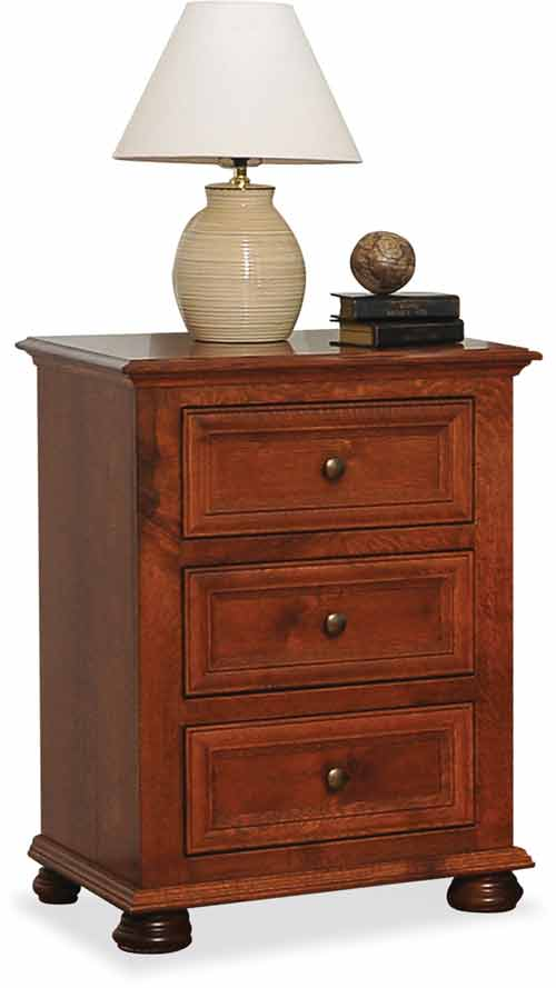 amish canyon creek bedroom nightstand