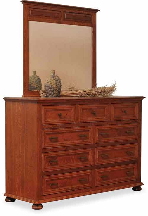 Amish Canyon Creek Bedroom Dresser