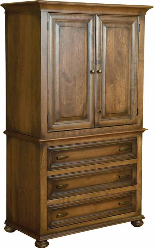 Amish Canyon Creek Armoire