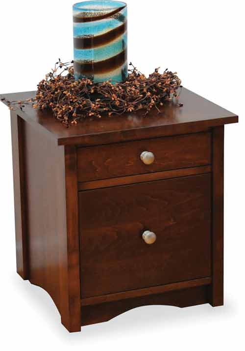 Amish Manhattan File Cabinet
