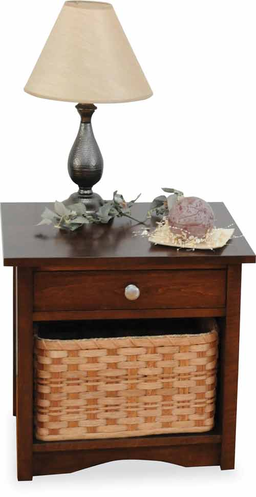 Amish Manhattan End Table