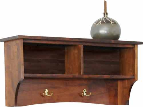 Amish Manhattan Small Storage Shelf