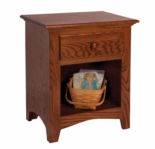 Amish Shaker Youth Nightstand