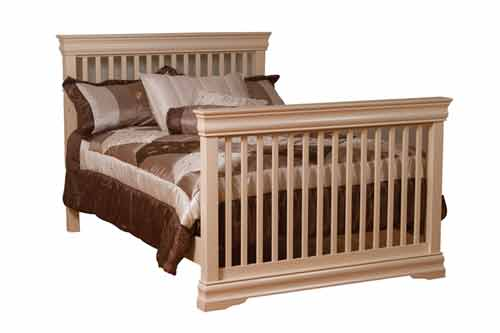 Amish Shaker Youth Slats/Rails for Full Bed