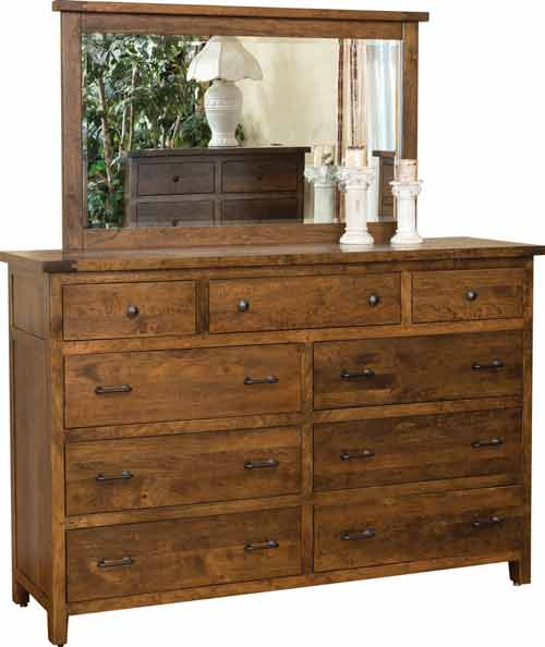 Amish Timber Mill Dresser